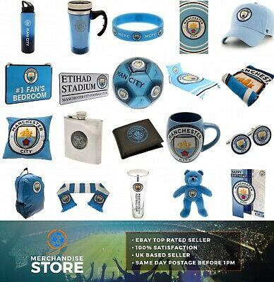 Manchester City Man City FC Official Merchandise Dad Birthday Fathers Day Gift