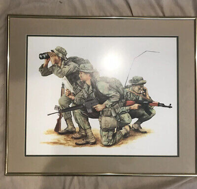 """U.S. Army Poster In Frame - 18"""" x 16"""""""