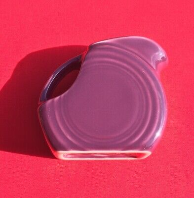 RARE FIESTA RETIRED HEATHER PURPLE Mini Disk Pitcher from 100% Trusted Seller