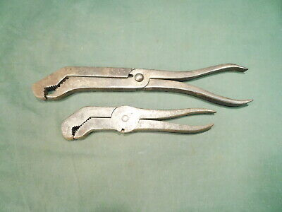 Vintage Wrench Pliers Wm H JORTH & Co. JAMESTOWN PAT. Collectible Antique Tool