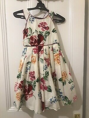 Monsoon Girls Age 6 Years Floral Party Dress BNWT