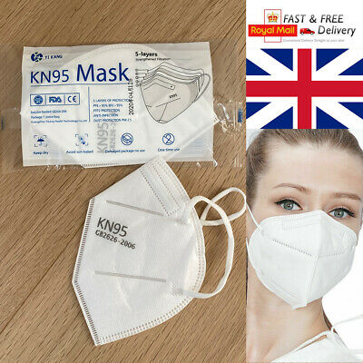 Facial Mouth Cover With Ear Straps Mouth Guard (UK STOCK)