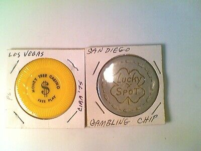 Lot of 10 Different Casino Gaming Chips (013)