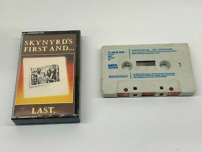 Lynyrd Skynyrd Album Cassette - Skynyrd's First and Last - MCA Label 1978