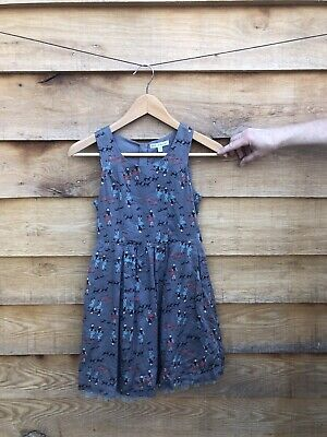 M &S Autograph Girls Dress Age 10 Years Good Condition