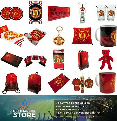 Official MANCHESTER UNITED FC Merchandise Birthday Gift Fathers Day Xmas Man Utd