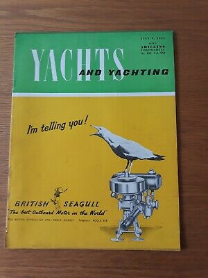 1954 YACHTS AND YACHTING MAGAZINE (July 9th) VG
