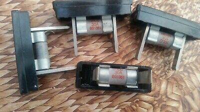 Electric Cartridge Fuses and Holders 30 amp and 15 amp