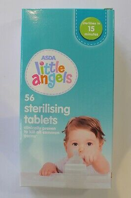 ASDA Little Angels 56 Sterilising Tablets