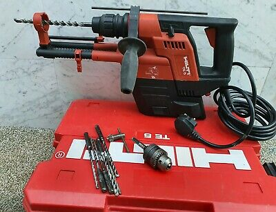 Hilti TE 5 sds hammer drill 240v & TE 5-DRS Dust extector