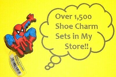 Spiderman Shoe Charms Shoe Buttons Plugs Decoration Cake Toppers  auction