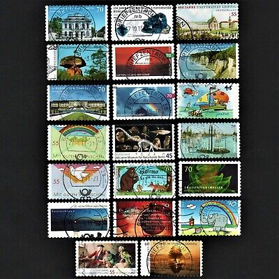 Old Stamps Germany X 20 - German Stamp Collection
