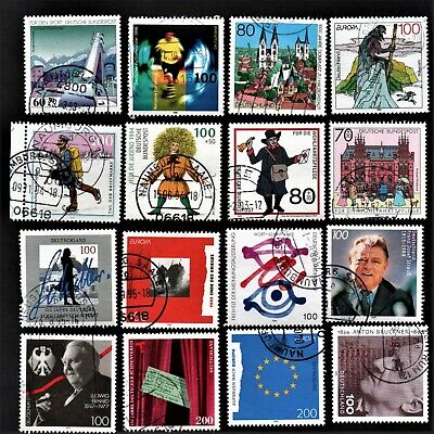 Old Stamps Germany X 16 - German Stamp Collection