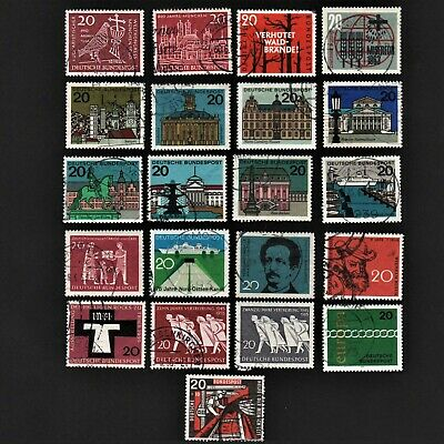 Old Stamps Germany X 21 - German Stamp Collection