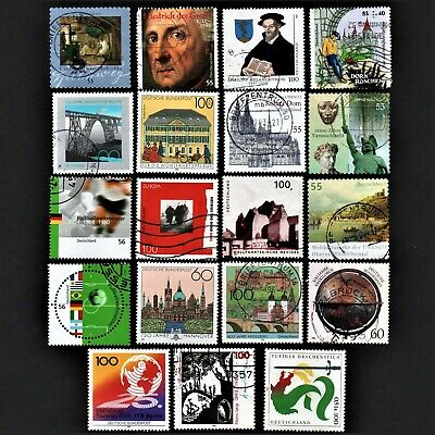 Old Stamps Germany X 19 German Stamp Collection