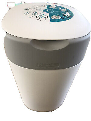 Tommee Tippee Twist & Click Nappy Disposal Bin - White