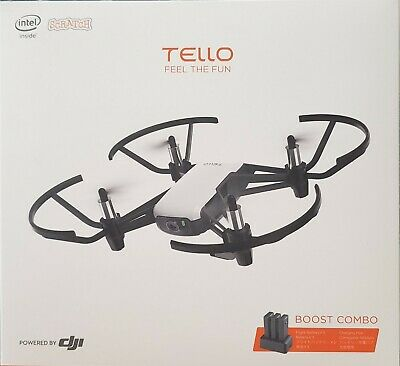 DJI Ryze Tello Drone - Fly more or Boost Pack - 3 Batteries - Multi Charger