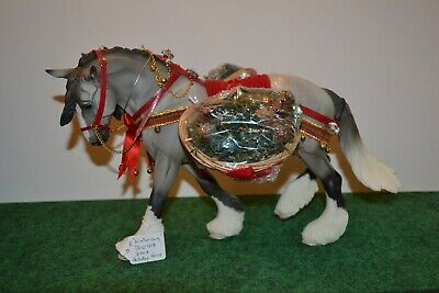 "Breyer #700107 ""Winter Song"" Holiday model from 2007. Used. Unboxed"