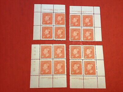 """Canadian Stamp Lot #155... """"King George VI""""... Not a Match Set!  #306 (mint)"""