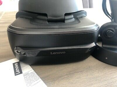 Lenovo explorer Vr headset and controllers windows. Instructions. Hardly used.