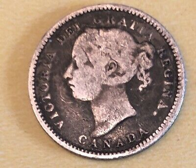 1886 10 Cents Canada