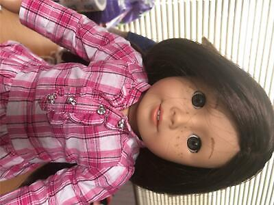 Beautiful American Girl Truly Me Doll #55 Green Eyes Freckles