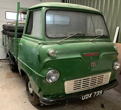 True Barn Find Ford Thames 400E Truck only 5,240 miles since  new