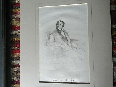 ALL ORIGINAL AUTOGRAPH AND ARTWORK of Henry W. Longfellow