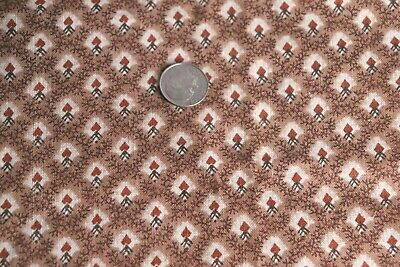 "Madder Antique Quilting Cotton Fabric~L-28"" X W-24""~Dolls"