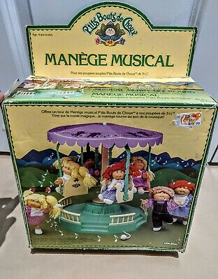 1984 Cabbage Patch Kids Musical Merry Go Round  - COLECO