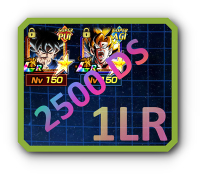 2500 DS + Goku UI LR with 1 LR RANDOM + DAI KAI + ORBS..  - Dokkan battle