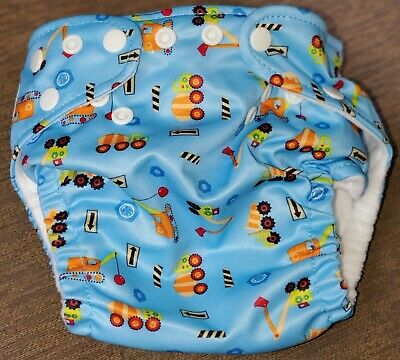 Charlie Banana One Size Reusable Cloth Pocket Diaper - Construction New W/O Tags