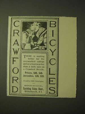 1900 Crawford bicycles Ad