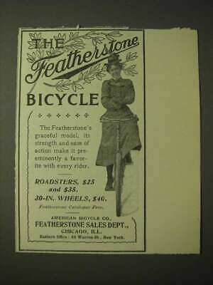 1900 Featherstone Bicycles Ad