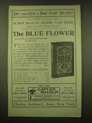 1902 Charles Scribner's Sons Ad - Dr. van Dyke's book now ready First edition