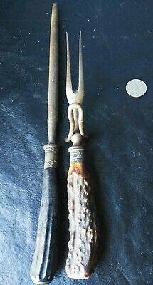 18c Victorian CARVED sharpener IMPORTANT ART silver AMULET antique collectible