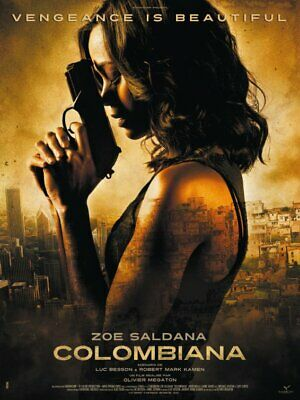 READ COLOMBIANA HDX VUDU INSTAWATCH Digital copy No Physical Disc 2011 movie