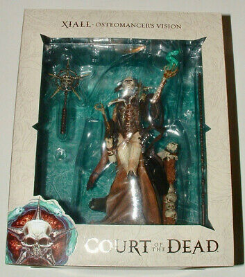 "Sideshow COURT OF THE DEAD Xiall Osteomancer's Vision 12"" Figure"