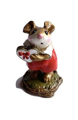 Wee Forest Folk M-080a BE MINE Red/Gold CRYSTALLIA SPECIAL 2001
