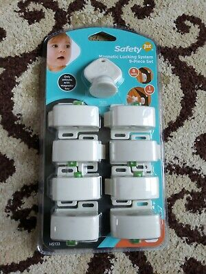 Safety 1st Magnetic Locking System 9-piece Set ***BRAND NEW IN SEALED PACKAGE***