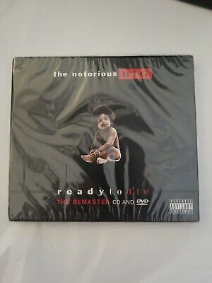 The notorious BIG ready to die the remastered CD and DVD