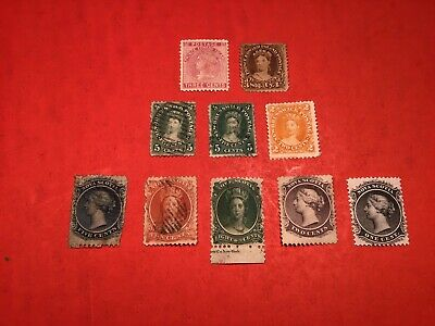 """Canadian Stamp Lot #161... """"NB - PEI - NS""""...  (fillers)"""