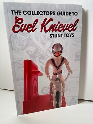 WEEKEND SALE! Evel Knievel Toy Collectors Book. Stunt Cycles, Figures and Toys