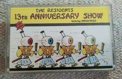 The RESIDENTS 13th Anniversary Show Live in Japan Cassette Tape 1986 Rare