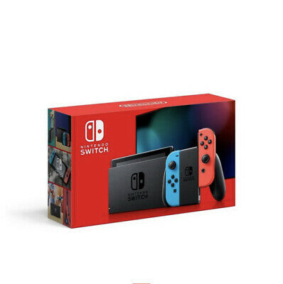 NEW Nintendo Switch 32GB Neon Red/Neon Blue Console FREE Shipping