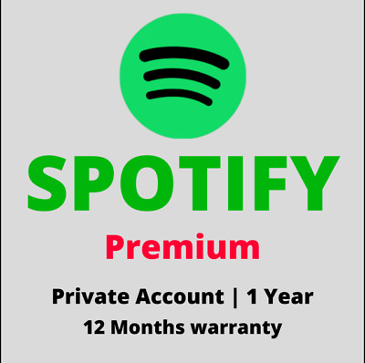 Spotify Premium 1 Year 12 Months Upgrade Worldwide Instant Delivery