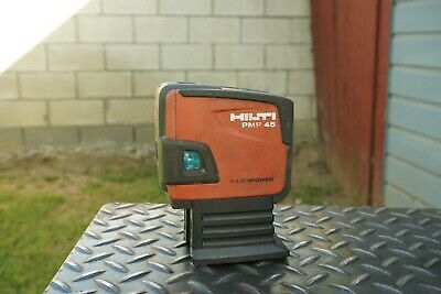 HILTI PMP 45 POINT LASER LEVEL SELF-LEVELING 5 POINT,PMP45 Made In Germany