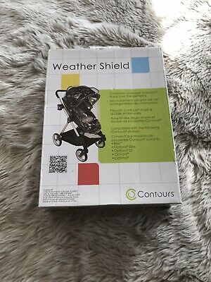 Contours Weather Shield Accessory for Single and Double Strollers New in Box