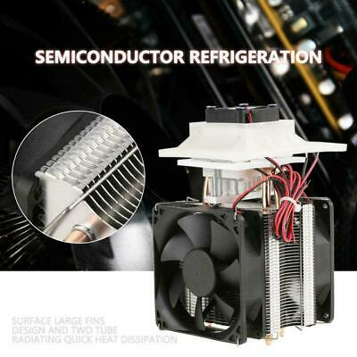 12V Electronic Semiconductor Refrigeration Cooler DIY Air Cooling Device