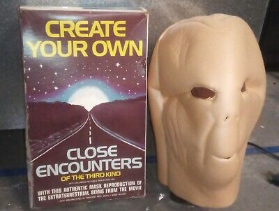 Close Encounters Of The Third Kind Create Your Own Mask 1978 MIB assembled